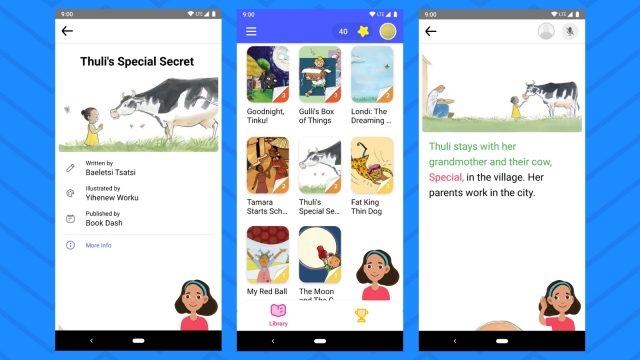 Bolo reading app