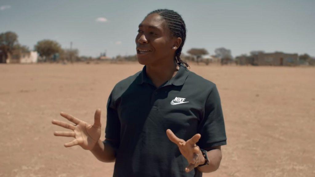 Caster Semenya Nike
