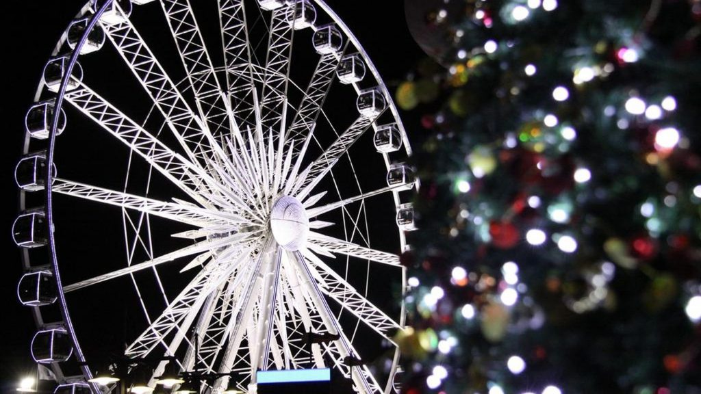 Cape Town Christmas Cape Wheel Derek Keats flickr