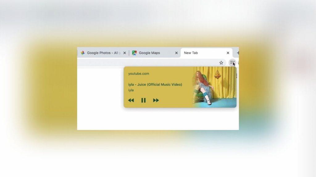 Chrome media hub