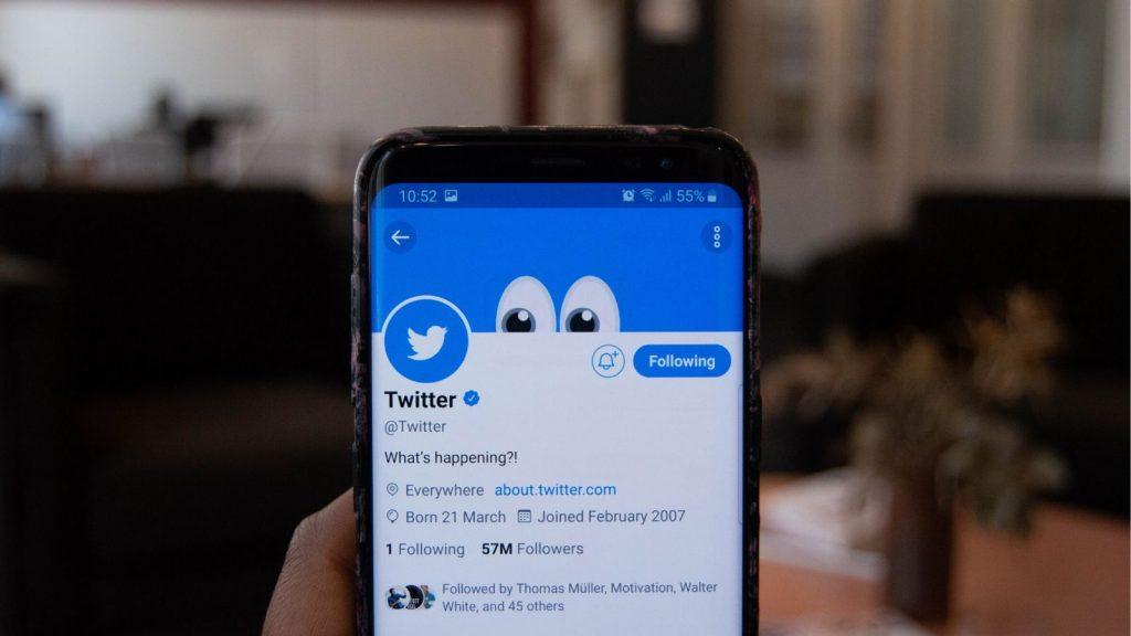 Twitter app android social media