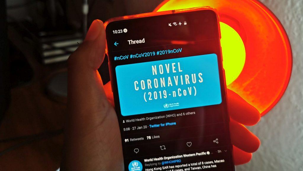 new coronavirus south africa twitter