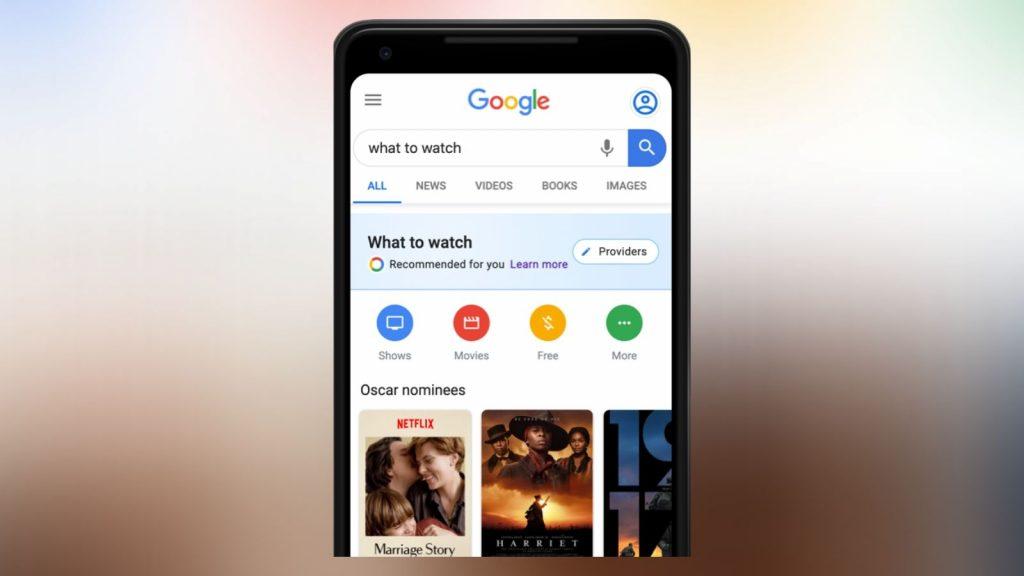 Google Oscars 2020