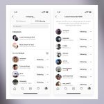 Instagram unfollow