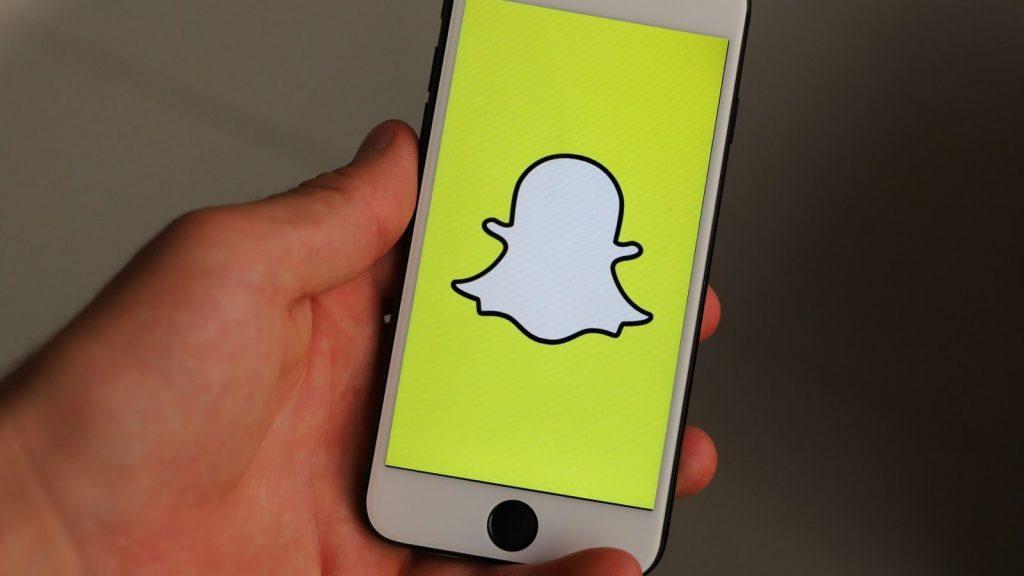Snapchat social media app