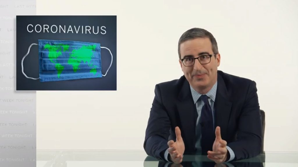 last week tonight coronavirus