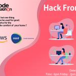 GirlCode Hackathon-Hack From Home Poster June 2020