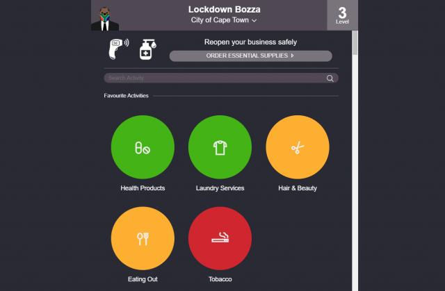 lockdown bozza regulations colours