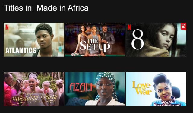 made in africa titles netflix