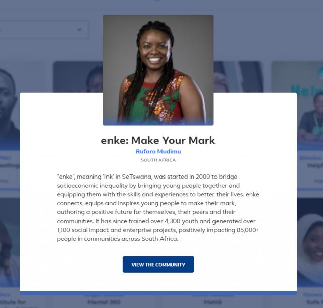 enke make your mark south africa