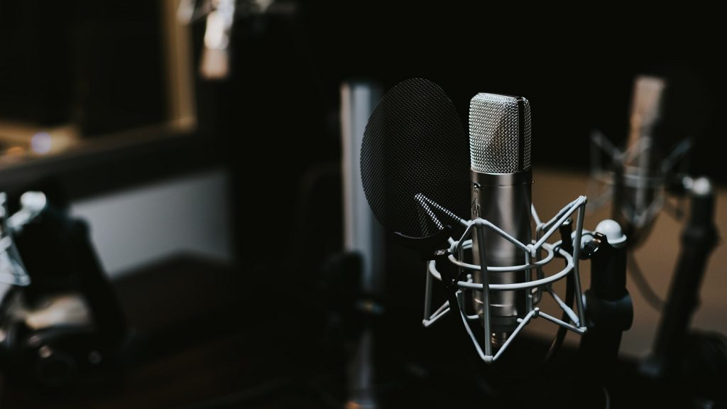 radio studio microphone primedia
