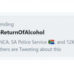 alcohol ban trend twitter