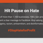 stop hate for profit facebook boycott