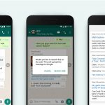 whatsapp search the web check messages