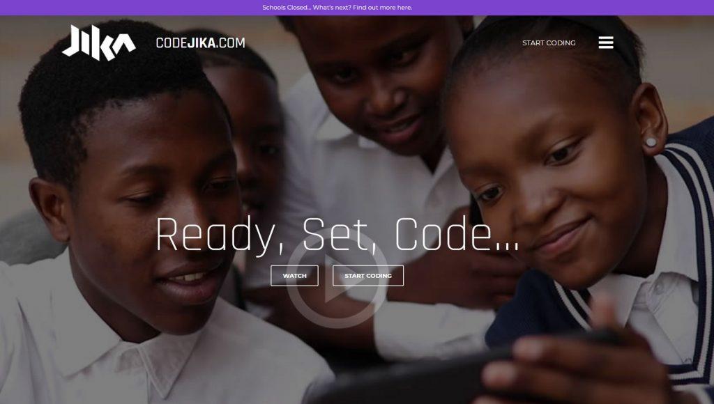 codejika coding website for high school