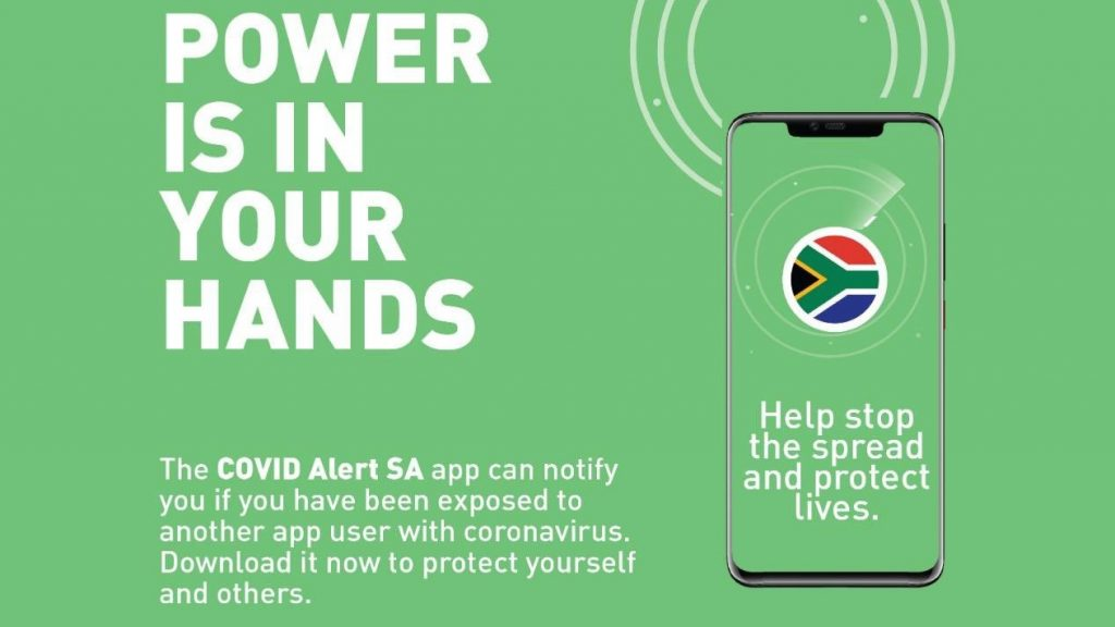 covid alert south africa app