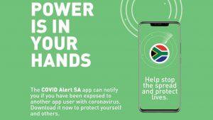 covid alert south africa app
