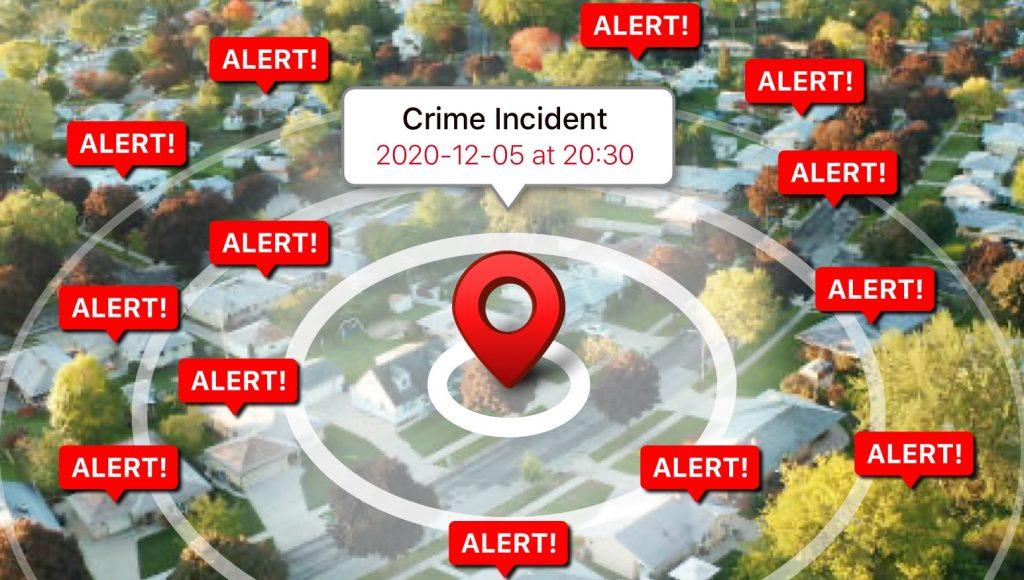 crimespotter crime reporting app