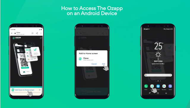 ozapp add icon