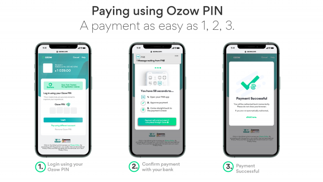 pay using ozow pin