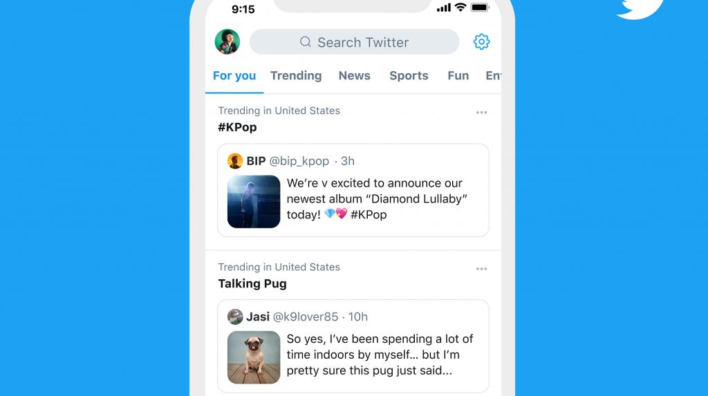twitter trends tweet context