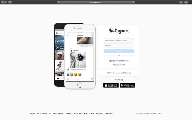 instagram on safari mac