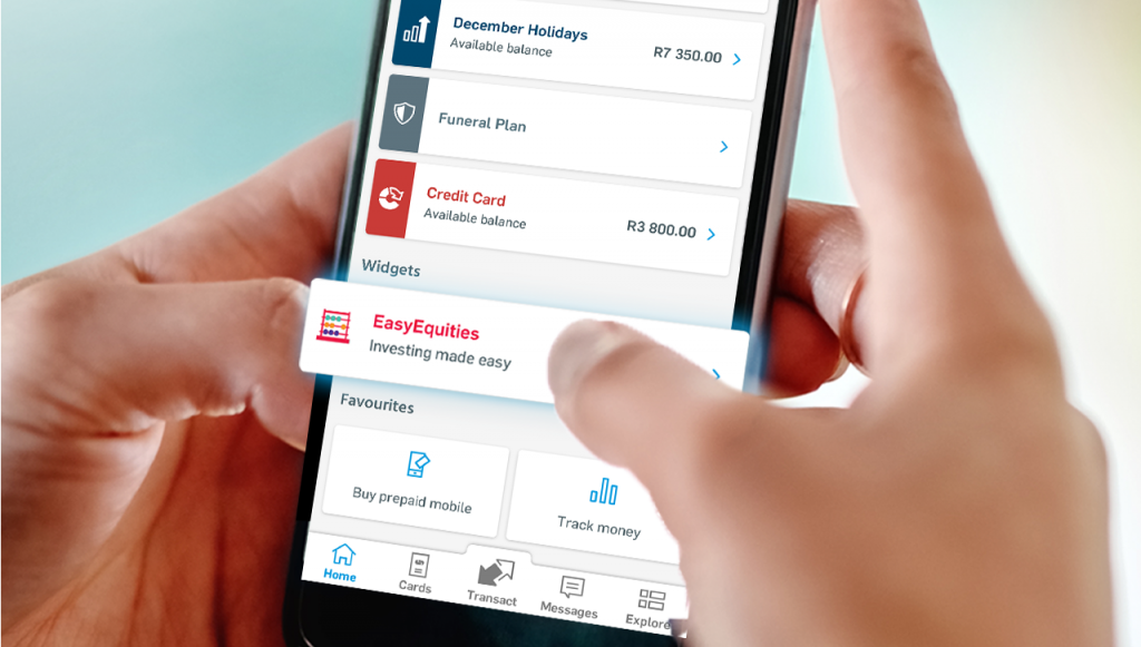 capitec buy shares with easyequities south africa