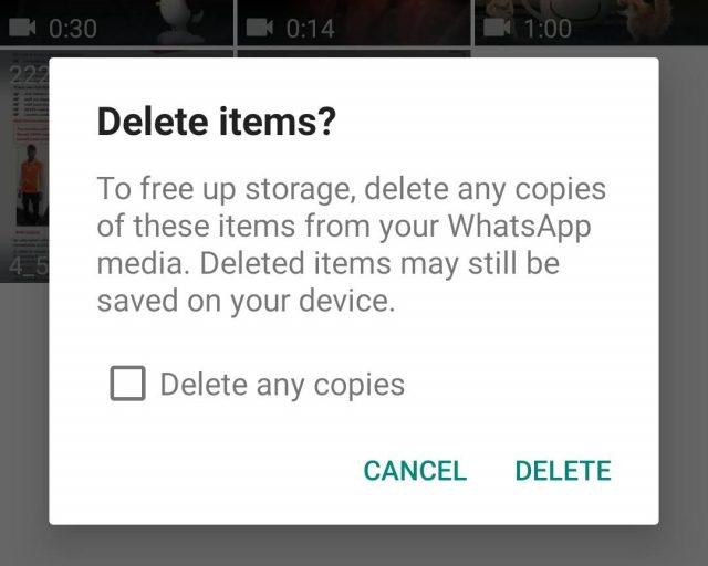 whatsapp bulk delete