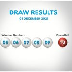 lotto powerball results 1 december