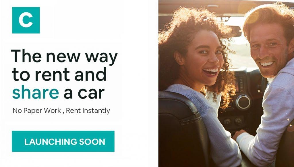 Cridde app rent car