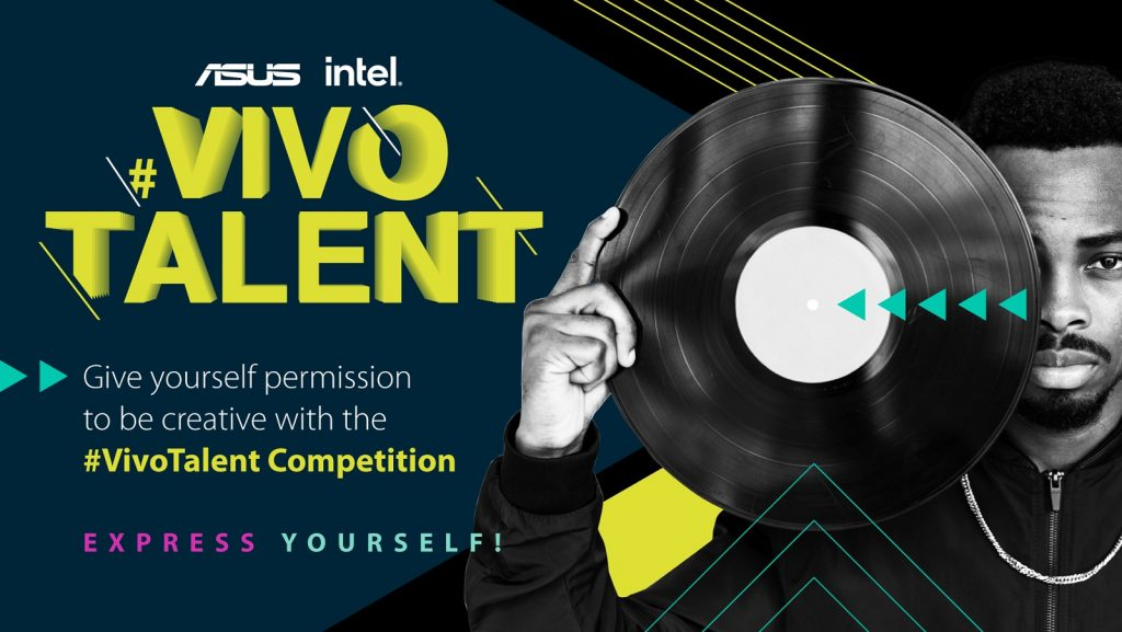 ASUS South Africa VivoTalent competition logo