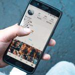 Instagram profile account