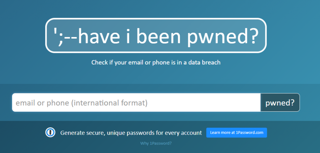 haveibeenpwned phone number facebook leak