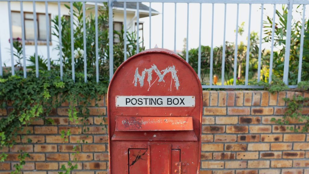 South African Post Office SAPO post box Wish