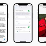 Apple Accessibility features VoiceOver AssistiveTouch Backgound sounds