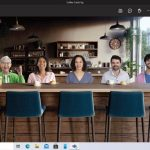 Microsoft Teams video conferencing personal features