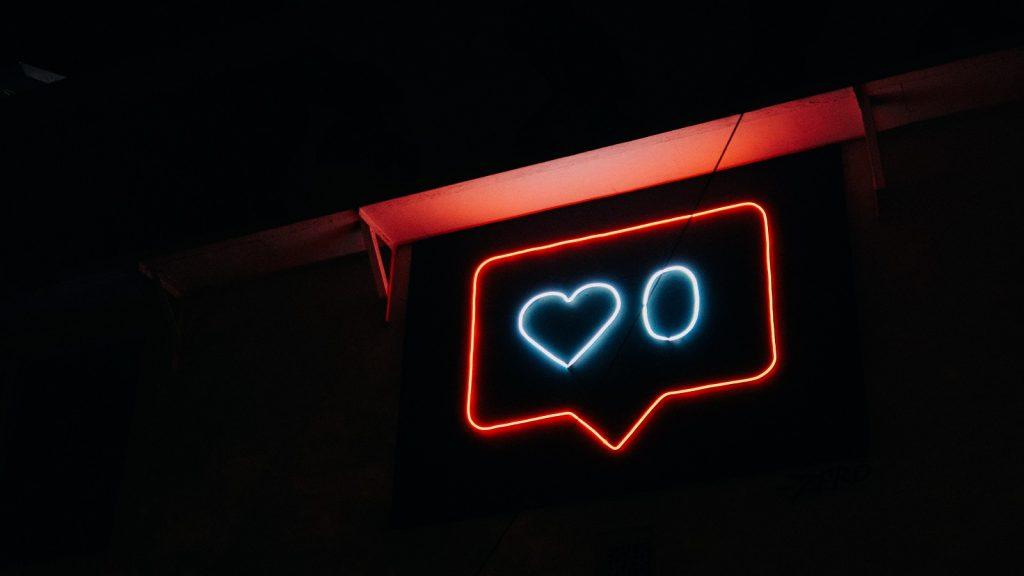 social media likes Instagram Facebook like count reactions