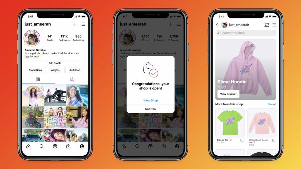 Instagram shop creators products incentives payouts shop