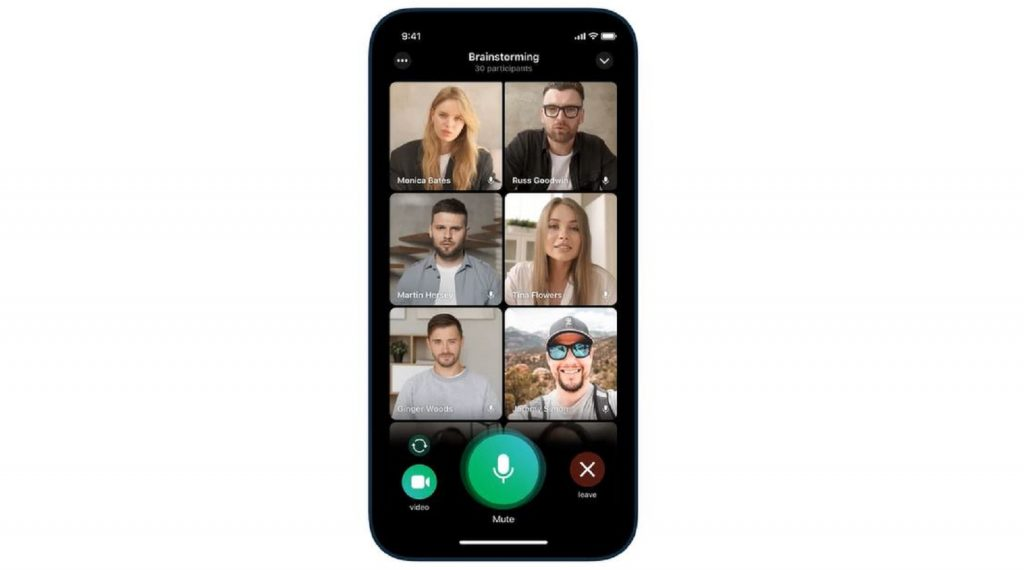 Telegram video calls participants instant messaging app