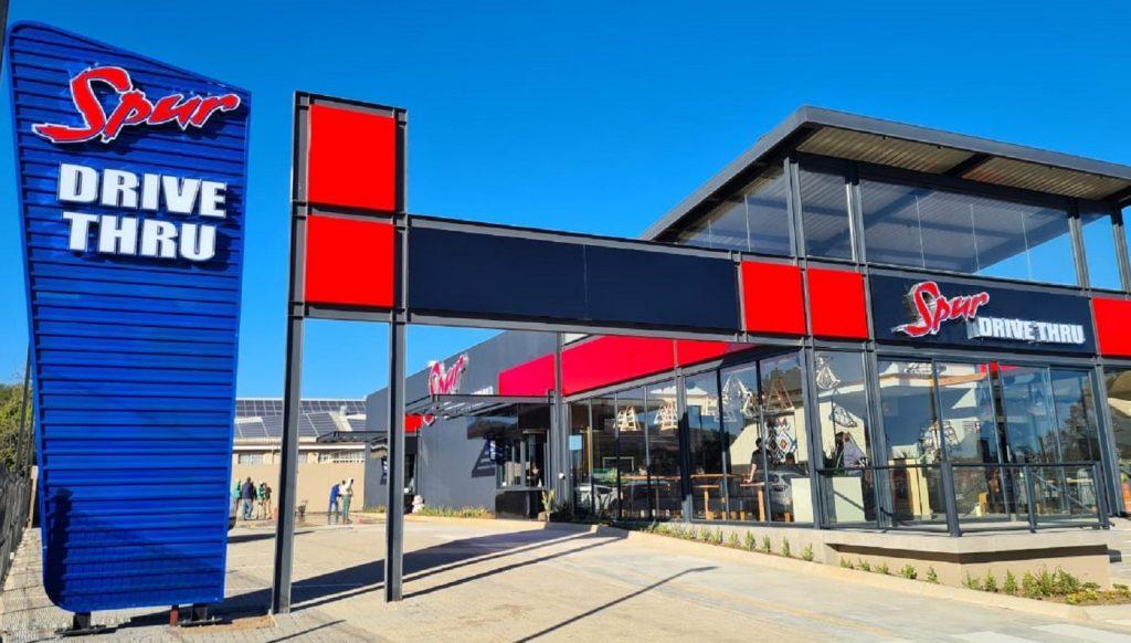 Spur Corporation South Africa drive thru restaurant