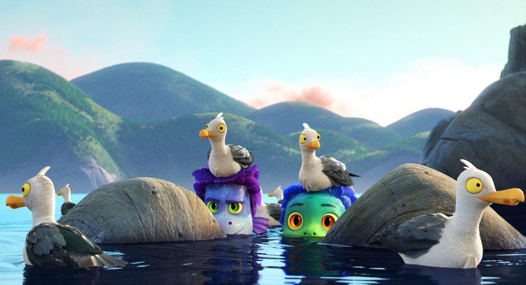 Luca Pixar review animation
