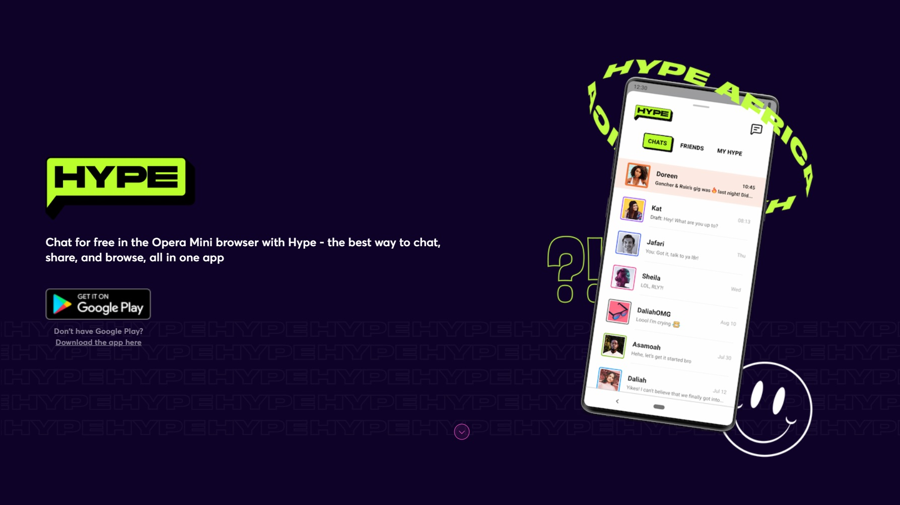 Opera launches Hype chat app in South Africa - Memeburn