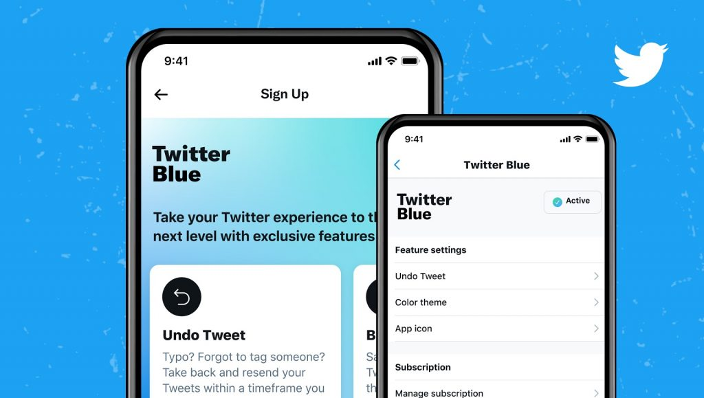 twitter blue subscription paid version