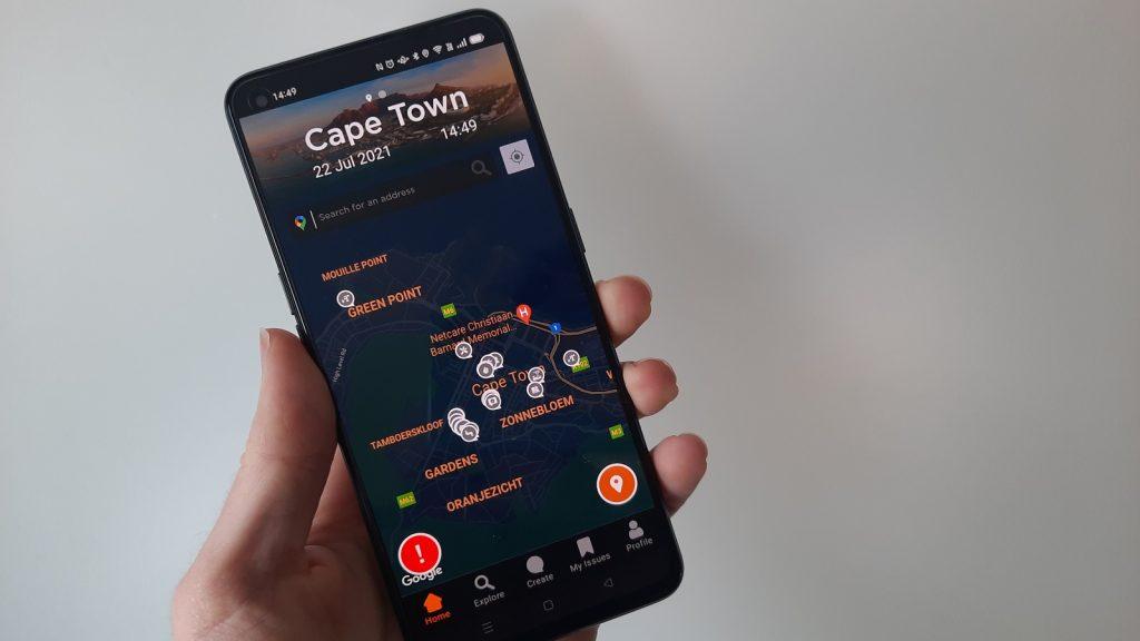 My Smart City Cape Town Johannesburg Service delivery app