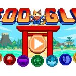 Google Doodle Olympic Games Island 16-bit Lucky