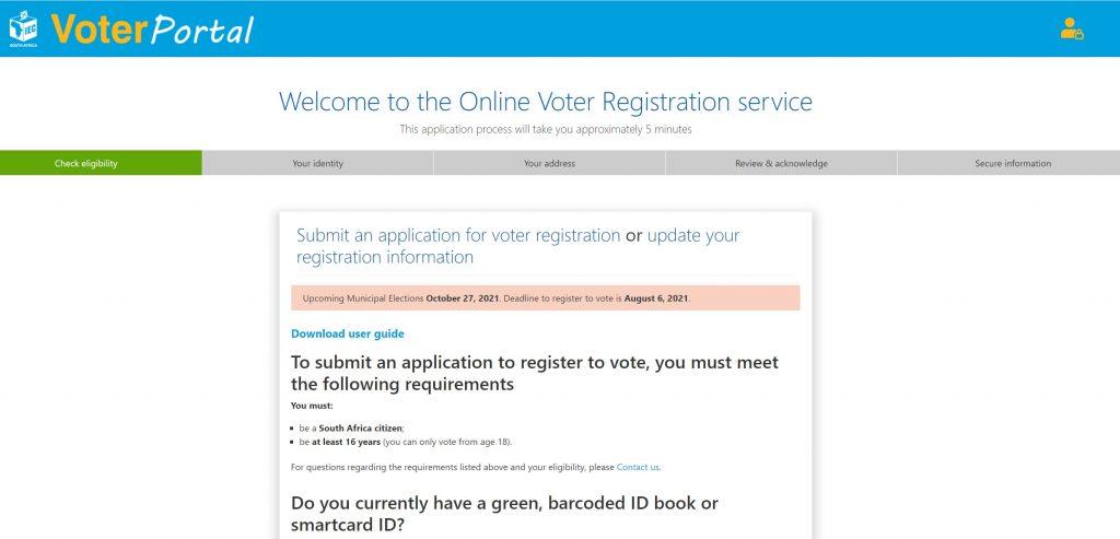 register to vote online iec portal