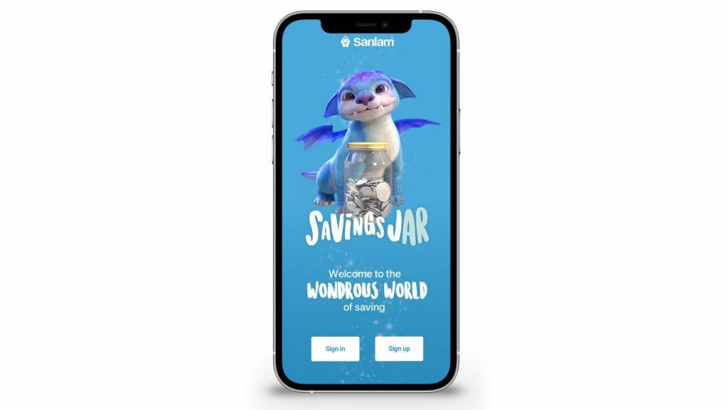 sanlam savings jar kids app