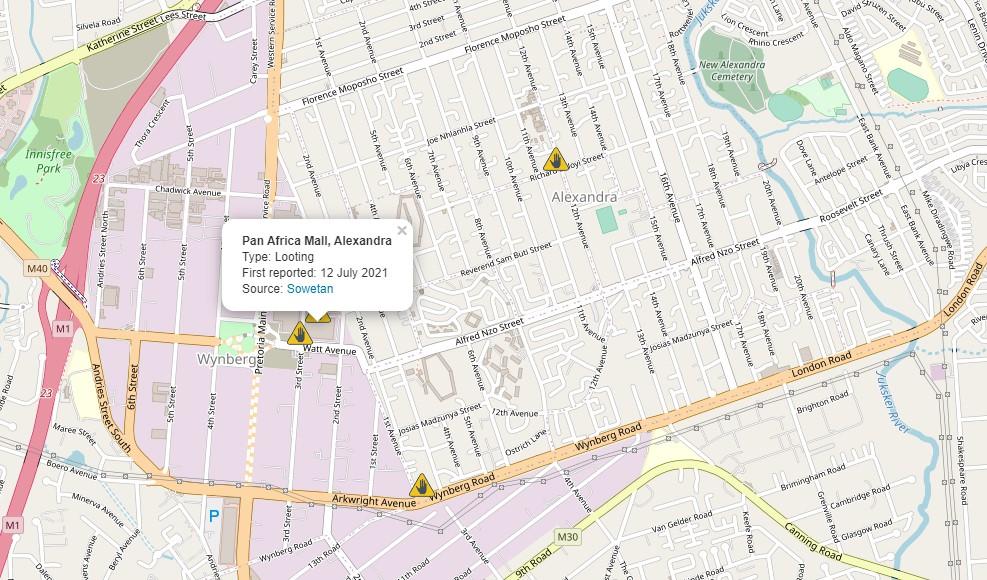 unrest tracker report