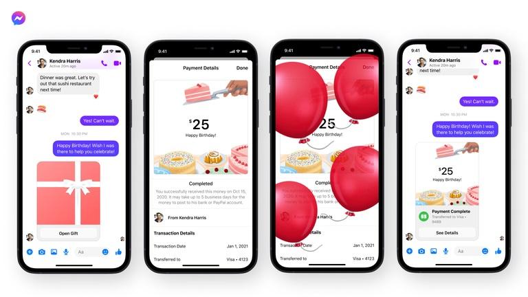 Facebook Messenger app instant messenging features updates