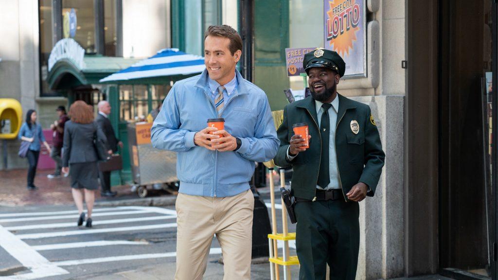 Free Guy movie review Ryan Reynolds Lil Rel Howery Taika Waititi